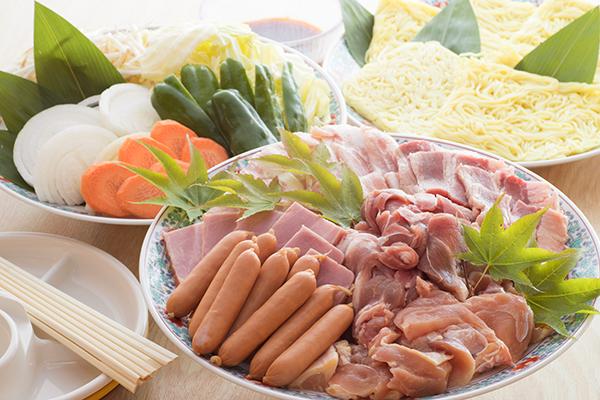 バーベキューセット(お肉と野菜のセット)