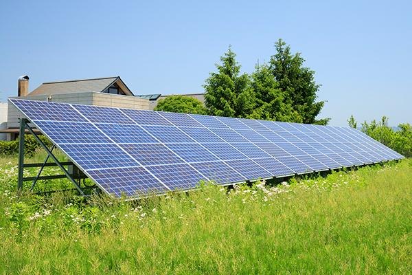太陽光発電「ソーラーガーデン姫神」「施設用太陽光発電」