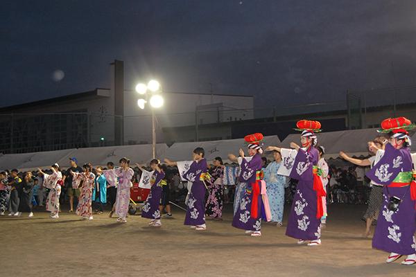 玉山夏祭り